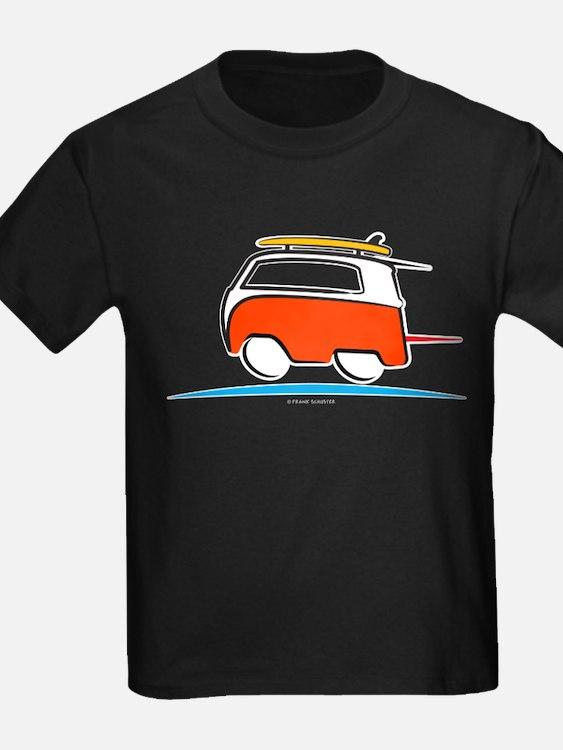 Red Shoerty Van Gone Surfing T