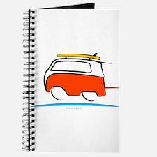 Red Shoerty Van Gone Surfing Journal