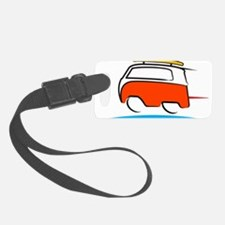 Red Shoerty Van Gone Surfing Luggage Tag