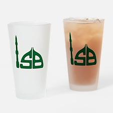 ISB emblem Drinking Glass