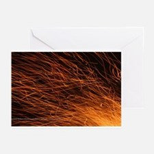 p2083. fire, quebec Greeting Cards (Pk of 10)