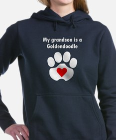My Grandson Is A Goldendoodle Sweatshirt