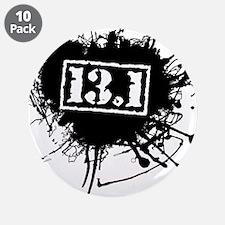 """Half Marathon 3.5"""" Button (10 pack)"""