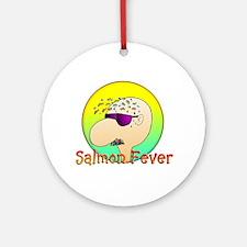 SALMON FEVER Ornament (Round)