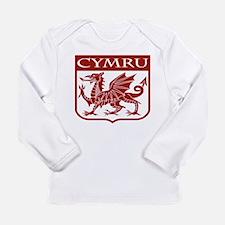 CYMRU Wales Long Sleeve T-Shirt