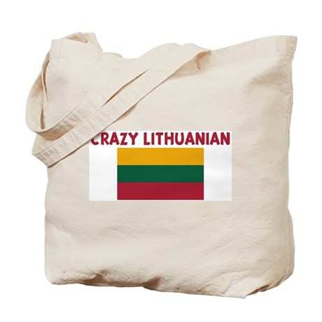 CRAZY LITHUANIAN Tote Bag