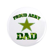 "Proud Army Dad 3.5"" Button (100 pack)"