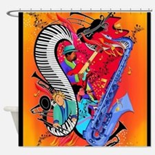 Cool Band and Shower Curtain