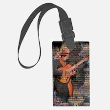 Cute Music wall Luggage Tag