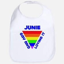 Junie Gay Pride (#005) Bib