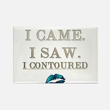 I Came, I Saw, I Contoured Magnets