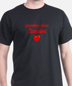 Grandma Loves Landon T-Shirt