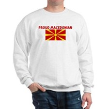 PROUD MACEDONIAN Sweatshirt