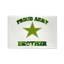 Proud Army Brother Rectangle Magnet