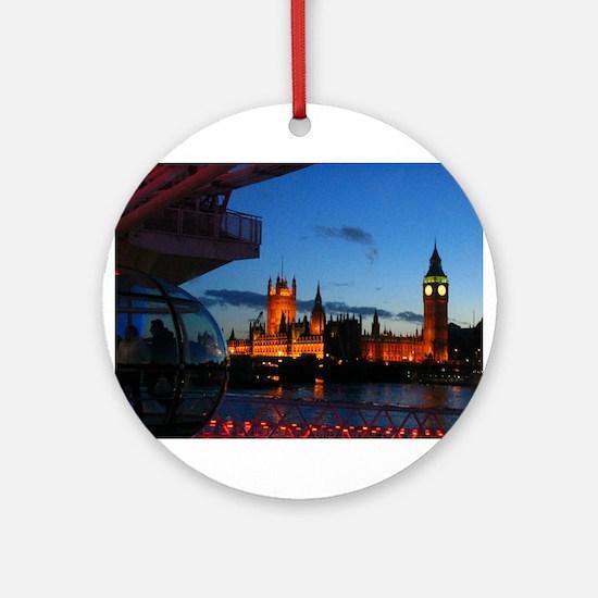 London Eye Ornament (Round)