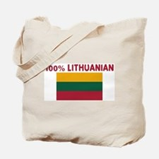 100 PERCENT LITHUANIAN Tote Bag