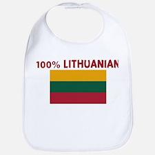 100 PERCENT LITHUANIAN Bib