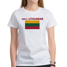 100 PERCENT LITHUANIAN Tee
