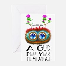 Scottish New Year Blessing Greeting Cards