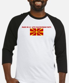 MADE IN US WITH MACEDONIAN PA Baseball Jersey