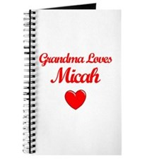 Grandma Loves Micah Journal