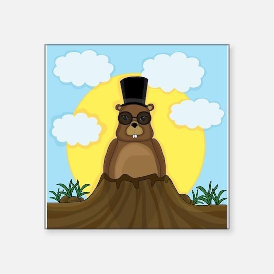 Groundhog day Sticker