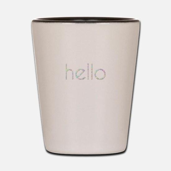 hello (Candies) Shot Glass