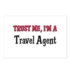 Trust Me I'm a Travel Agent Postcards (Package of
