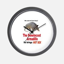 The Pentecost Armadillo Wall Clock