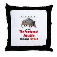 The Pentecost Armadillo Throw Pillow