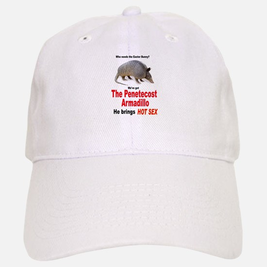 The Pentecost Armadillo Baseball Baseball Cap