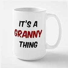 Granny thing Mugs