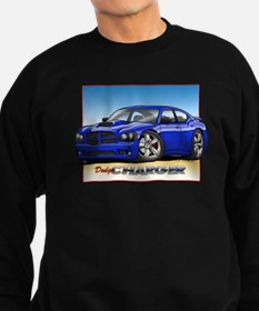 Blue Dodge Charger Sweatshirt
