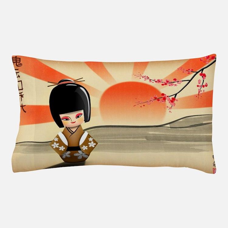 Cute Pillow Doll : Kokeshi Doll Bedding Kokeshi Doll Duvet Covers, Pillow Cases & More!