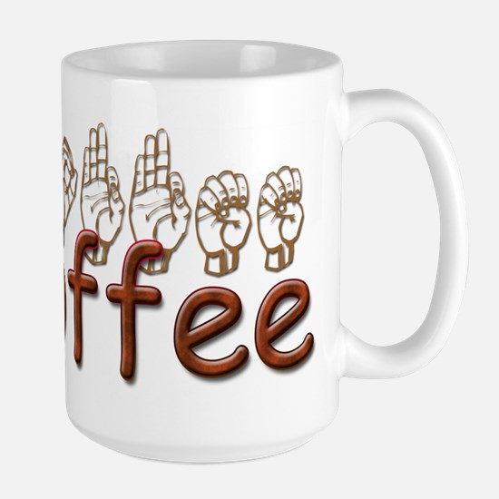 Coffee Mug in ASL Mugs