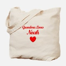 Grandma Loves Noah Tote Bag