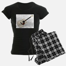 Pale Acoustic Guitar Pajamas