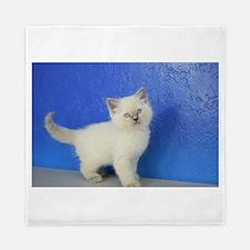 Janie - Ragdoll Kitten Blue Point Queen Duvet