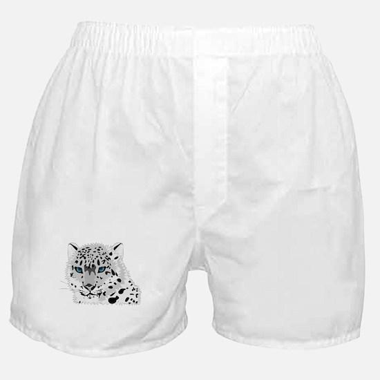 Snow leopard Boxer Shorts