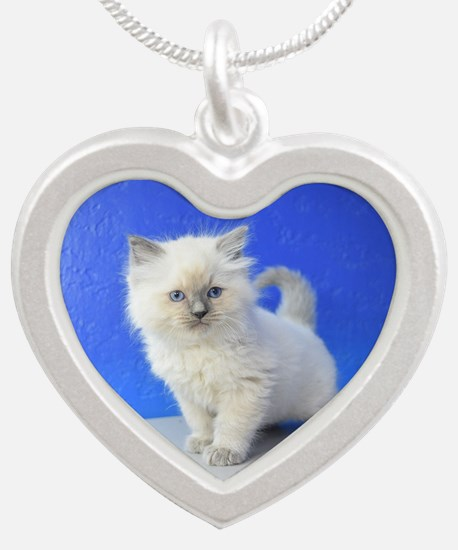 Kissy - Ragdoll Kitten Blue Point Necklaces