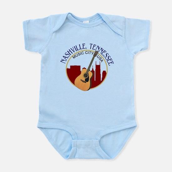 Nashville, TN Music City USA-RD Body Suit