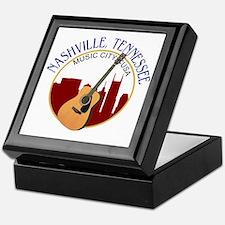Nashville, TN Music City USA-RD Keepsake Box