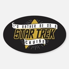 Rather Be on Star Trek Cruise Decal