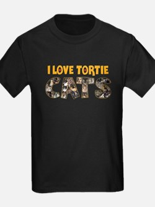 I love Tortie Cats T-Shirt