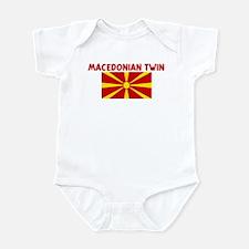 MACEDONIAN TWIN Infant Bodysuit