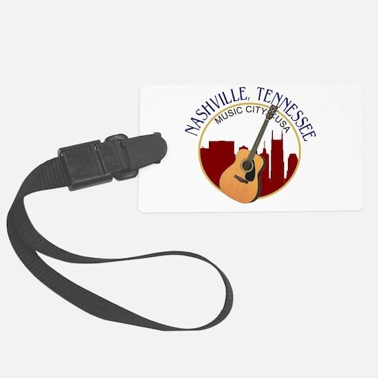 Nashville, TN Music City USA-RD Luggage Tag