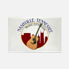 Nashville, TN Music City USA-RD Magnets