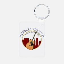 Nashville, TN Music City USA-RD Keychains