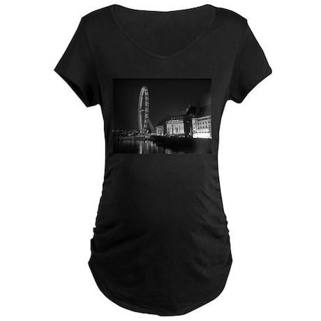 London Eye Maternity Dark T-Shirt