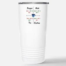 Cute Math charts Travel Mug